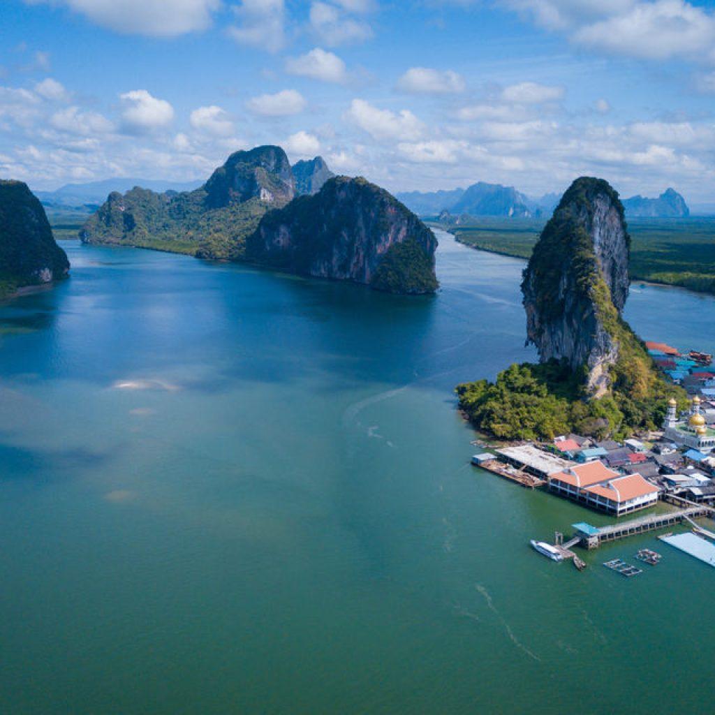 phang nga bay and james bond island tour