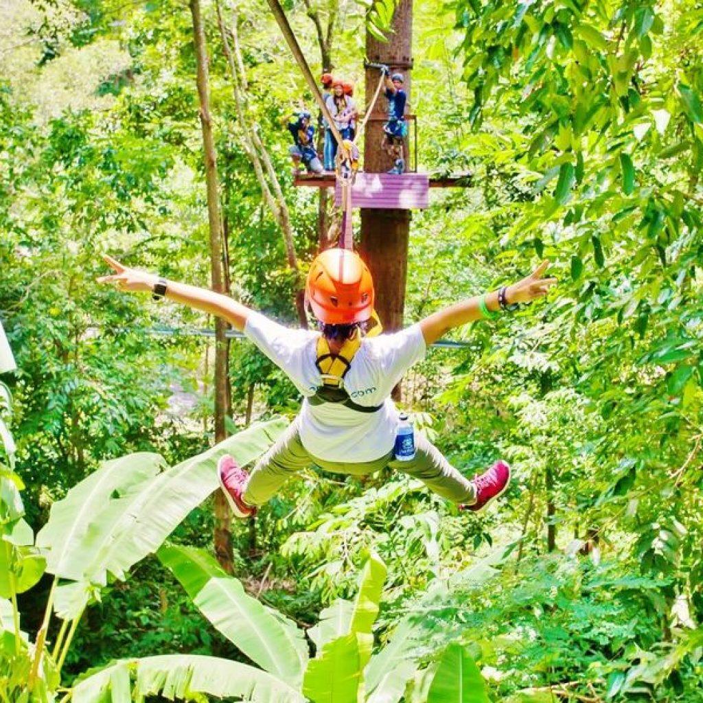 Phuket Half Day Zipline Adventure