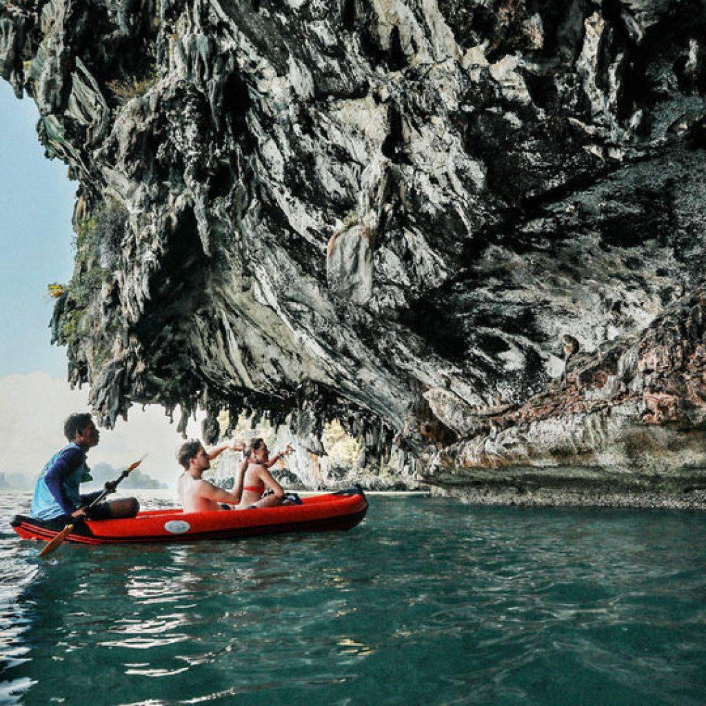 sea cave canoe phuket