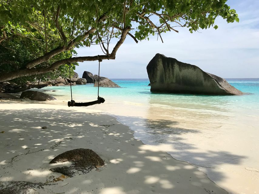 similan islands from phuket
